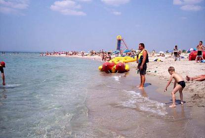 Пляжи в районе п. Поповка