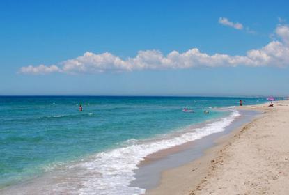Дальние пляжи поселка Поповка